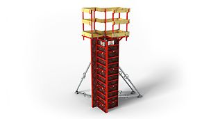 LICO: Lightweight column formwork for cost-effective forming by hand