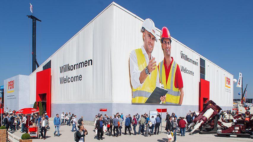 bauma 2016 in München vom 11. - 17. April 2016 | PERI Messestand: Freigelände Nord 719