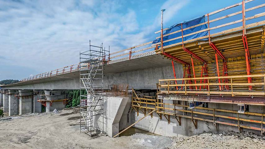 S7 Motorway, Section 1 Lubień – Rabka-Zdrój, Poland | Extensive range of services and products ensured the success of the project