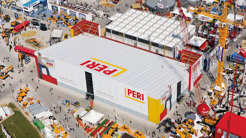 The PERI booth with its own restaurant inside