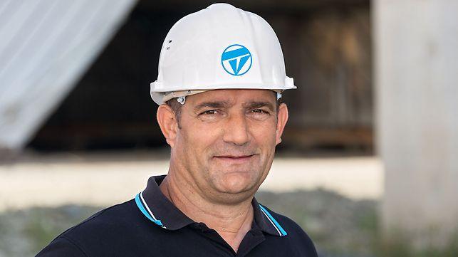 Anto Vranjković, stavbyvedoucí pro pylony
