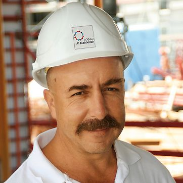 Tunel Jumeirah Palm Island, Walter Freitag, voditelj gradnje
