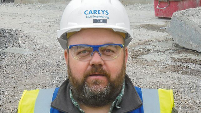 Portrait of Ed Morgan, Project Engineer at Carey's Civil Engineering