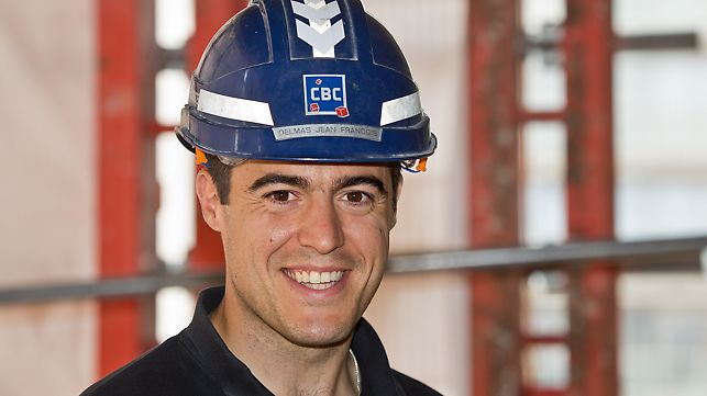 Jean-Francois Delmas, hlavní stavbyvedoucí