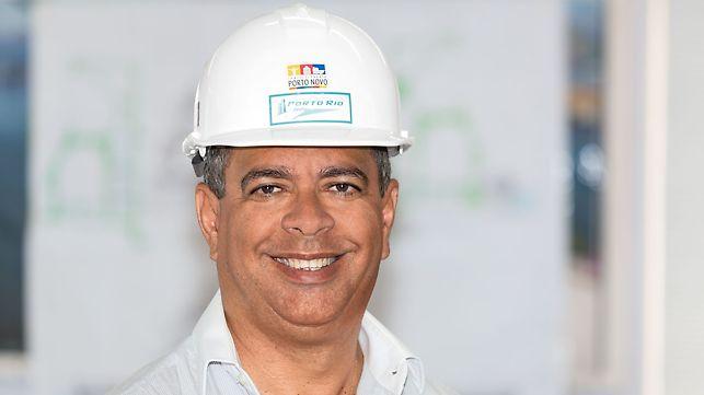 Progetti PERI - Edilson Costa, direttore del cantiere del Museo del Domani, Rio de Janeiro