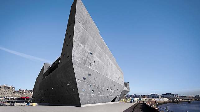 архитектурным бетоном