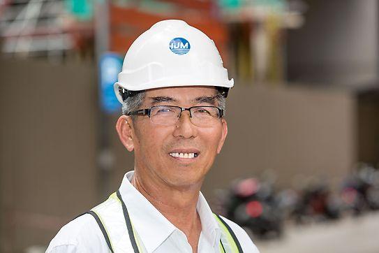 Progetti PERI - Kim Fook Wong, Project Manager - cantiere JKG Tower, Kuala Lumpur, Malesia