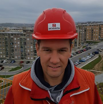 Portret Dušana Mijatovića, menadžera projekta, ZOP inženjering d.o.o., Beograd