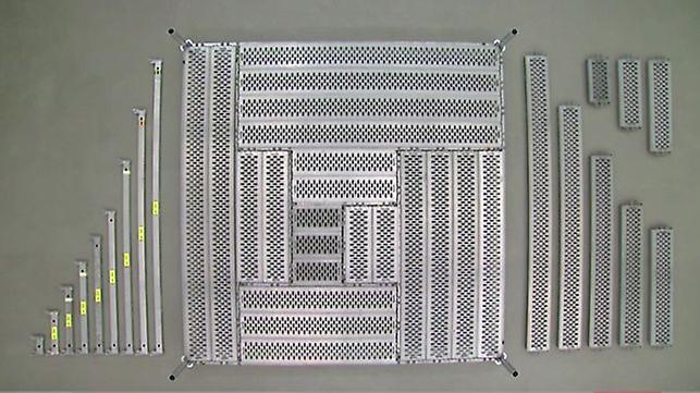 System rusztowań PERI UP z siatką metryczną został zoptymalizowany elastycznie dostosowuje się do różnych zastosowań.