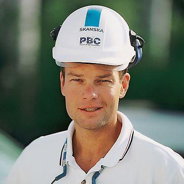 Peo Halvarsson, hlavní stavbyvedoucí