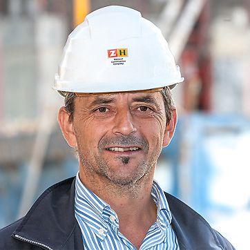 Ferdinand Platter, šef gradilišta