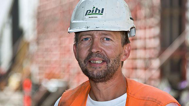 Progetti PERI - Dichiarazione di Brian Andersen, Assistente cantiere del tunnel Nordhavensvej, Copenaghen