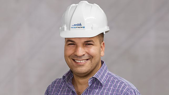 Dotan Hazan, Projektleiter bei Ashtrom Construction and Electra Construction Ltd. Joint Venture