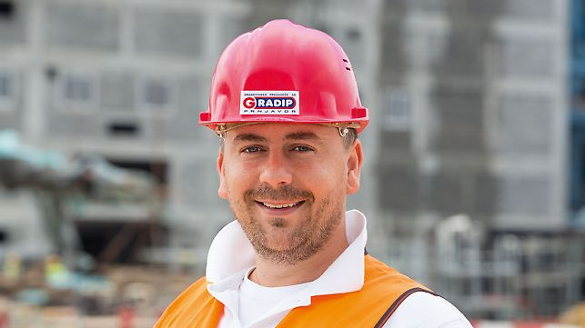 Miroslav Usorac, Civil Engineer, Project Manager for the Construction Phase (GP Gradip AD)