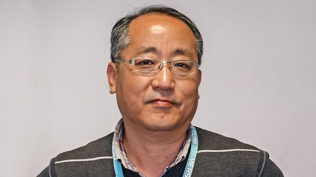 Porträt von Hr. C H Lee, Technischer Direktor