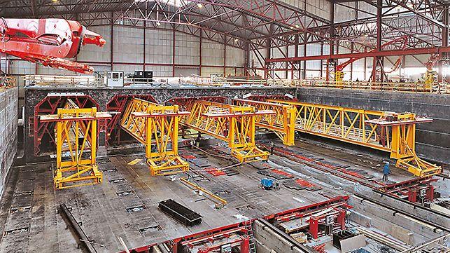 Urządzenie PERI do budowy największego na świecie monolitycznego tunelu, łączącego Danię ze Szwecją