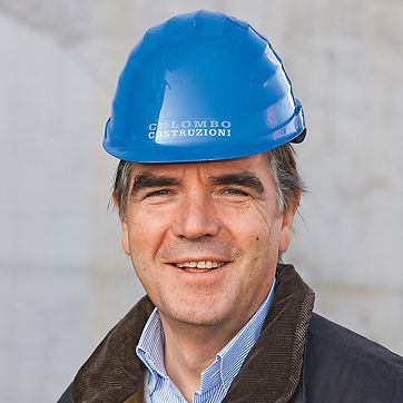 Porta Nuova Garibaldi - Gianfranco Cesana, Construction manager