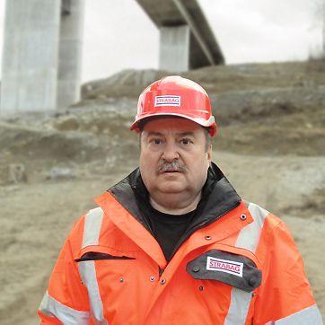 Ing. Ján Hricko, stavbyvedoucí