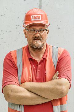 Ing. Andrej Fuljer, stavbyvedúci