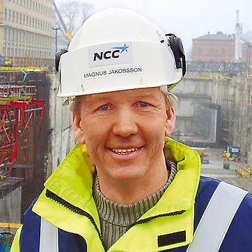 Magnus Jakobsson, voditelj gradnje E101, Gradski tunel Malmö