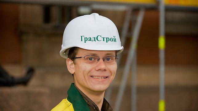 "Кирилл Николаевич Белов, мастер участка, УК ""Интарсия"""