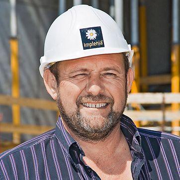 Waldemar Scherer, šef gradilišta, VitraHaus