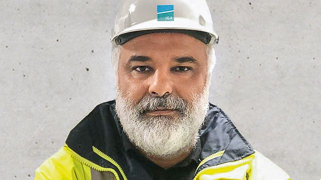 Porträt von Nahit Çetin, General Manager bei IGA Havalimanları İnşaatı Adi Ortaklığı Tic. İşletmesi, Istanbul, Türkei