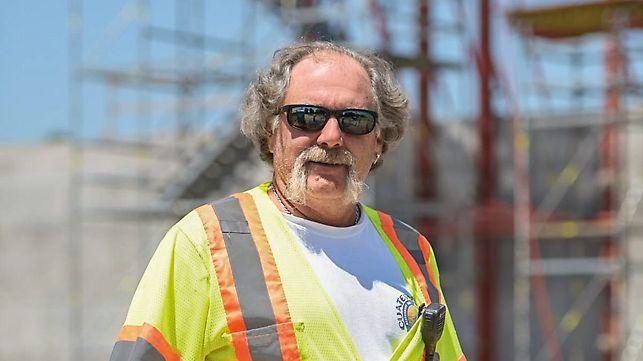 Portrait von Mike LaSalle, Oberbauleiter, Walsh / Vinci Construction