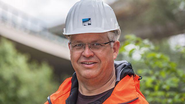 Porträt von Richard Schedel, Leiter Arbeitsvorbereitung bei Xaver Lutzenberger GmbH & Co. KG, Pfaffenhausen