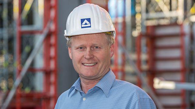 Bernd Dommack, hlavní stavbyvedoucí