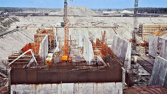 PERI veliki projekat: Brodski lift Scharnebeck kod Lüneburga, Nemačka