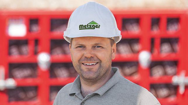 Portrait von Felix Metzger, Bauunternehmer von Metzger GmbH, Wilhelmsdorf