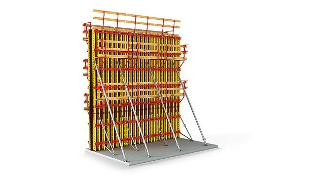 VARIO GT 24 erlaubt mit der stufenlosen Elementverbindung das Schalen aller Formen und Anwendungen.