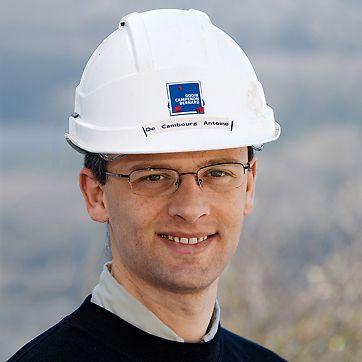 Antoine de Cambourg, glavni voditelj gradnje