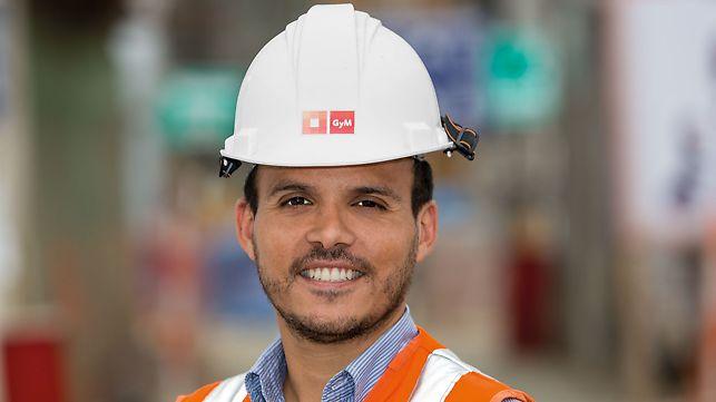 Humberto Cueva Carrascal, voditelj gradnje, UTEC