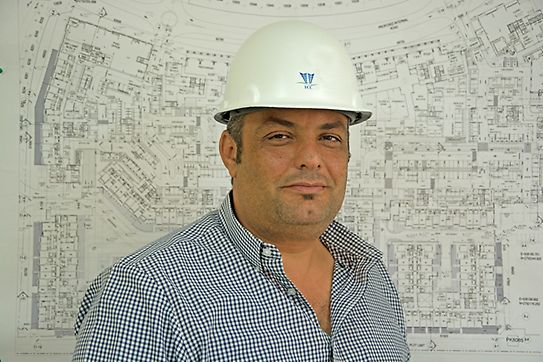 Nasser Nasser - Construction Manager at ECC for Al Badr project with PERI