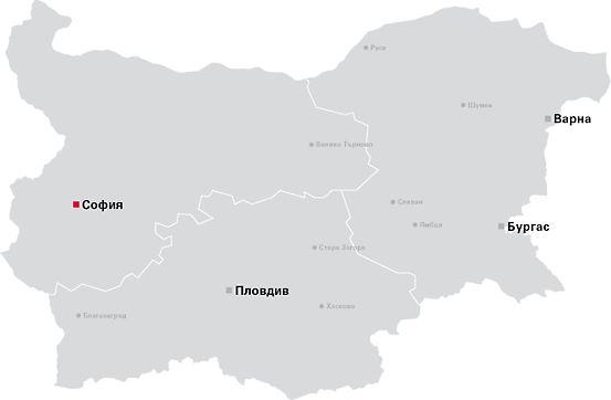 PERI Bulgaria Map