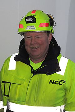 Kjell Sanden, Anleggsleder