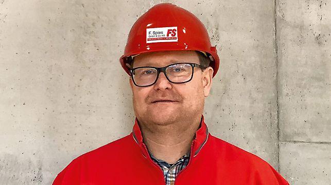 Porträt von Udo Karl, Geschäftsführer bei F. Spies GmbH & Co KG, Sennfeld