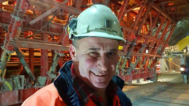 Achille Meleri, Foreman, Marti Tunnelbau AG