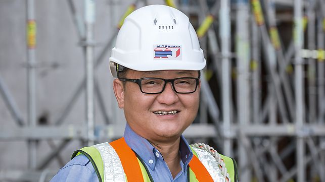 Picture of Mr. Leslie Lim, Project Director at Mitrajaya Bhd., Puchong