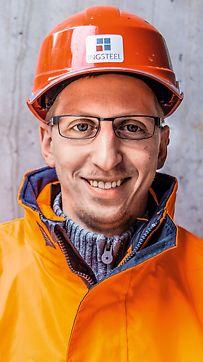 Ing. Daniel Vajdík, asistent stavbyvedúceho