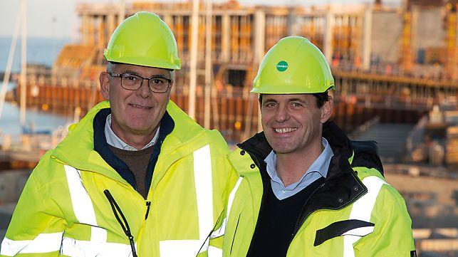 Portrait of Stefano Borroni, Construction site manager at MPNM Byggeri Aps