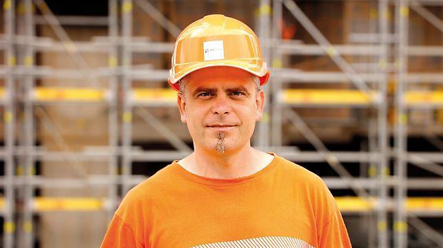 Porträt von Ing. Miroslav Petija, Montageleiter, INGSTEEL, spol. s r.o., Bratislava.