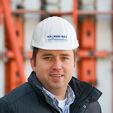 Portrait von Dipl.-Ing. (FH) Frank Muntel, Bauleiter bei Krämer-Bau GmbH & Co. KG, Wietmarschen-Nordlohne