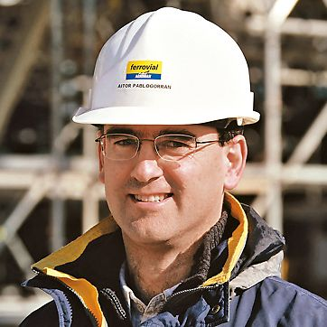 Aitor Pablo Gorran, voditelj gradnje, Hotel Marques de Riscal