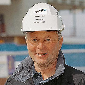 Jörgen Holm, stavbyvedoucí