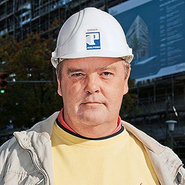Porträt von Thomas Erkner, Bauleiter von Aug. Prien Bauunternehmung GmbH & Co. KG, Hamburg