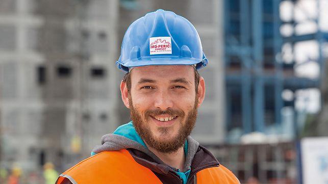 Luka Popržen, Projektleiter für die Bauphase, MD-Perić Company