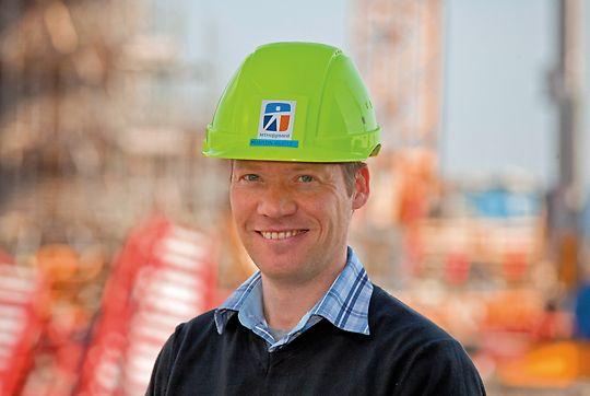 Projektchef Martin Würtz Larsen
